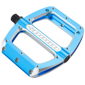 Spank Spoon Flat Pedals S blue